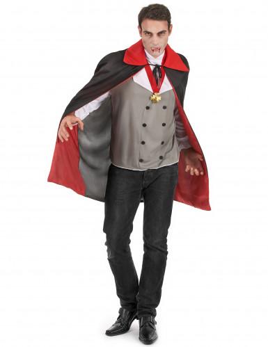 Vampir-Kostüm Halloween für Erwachsene