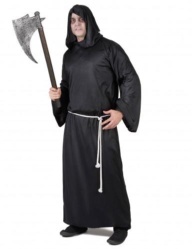 Schauriges Sensenmannkostüm Halloween für Erwachsene