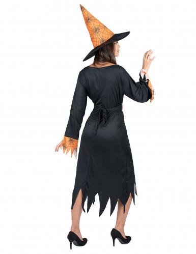Spinnen Hexen-Kostüm Halloween für Damen-2