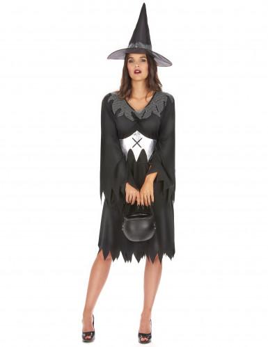 Hexenkostüm Halloween für Damen