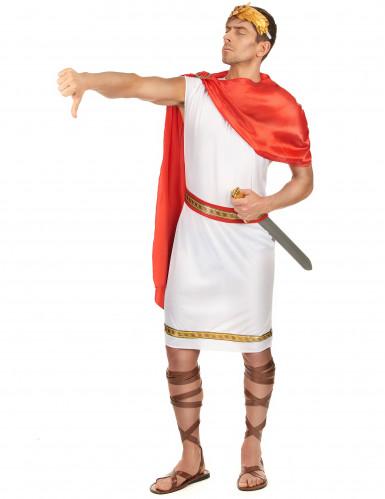 Cäsaren-Kostüm für Herren weiss-rot-goldfarben-1