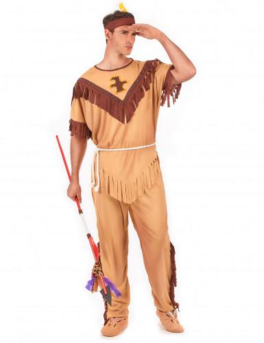 Indianerkrieger-Kostüm für Herren