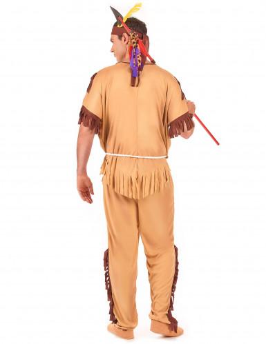Indianerkrieger-Kostüm für Herren-2