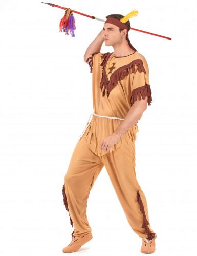 Indianerkrieger-Kostüm für Herren-1