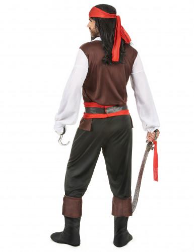 Seeräuber-Kostüm für Herren bunt-2