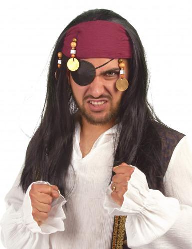 Piraten-Perücke für Damen