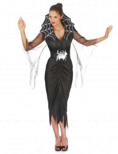 Spinnenfrau-Kostüm Halloween für Damen