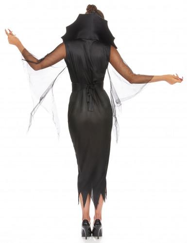Spinnenfrau-Kostüm Halloween für Damen-2