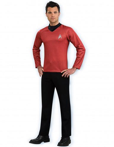 Star Trek™ Kostüm rot für Herren