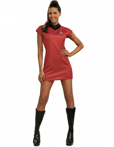 Star Trek™ Kostüm rot für Damen