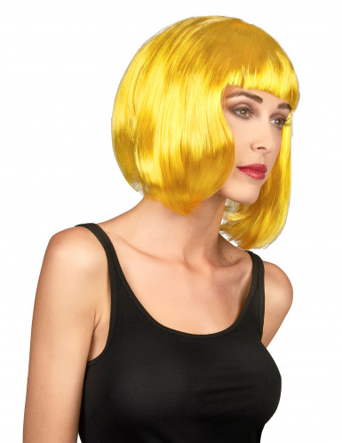 Damenperücke gelb