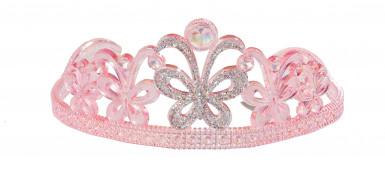 Prinzessinnendiadem rosa