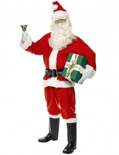 Weihnachtsmann-Kostüm Deluxe für Herren