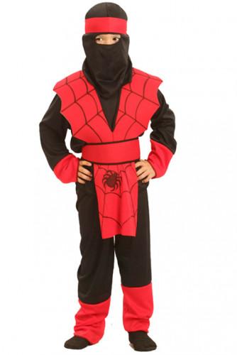 Ninja-Kostüm Spinne für Jungen
