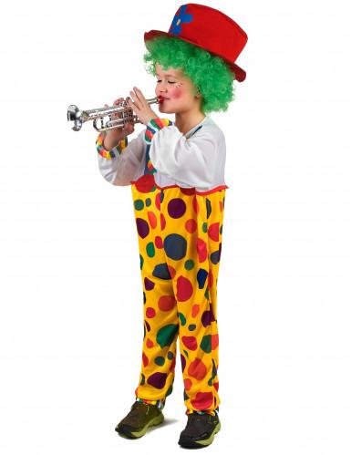 Jongleur Clownskostüm für Kinder bunt-1