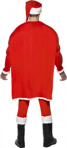 Muskulöses Super-Weihnachtsmann Kostüm für Herren-1