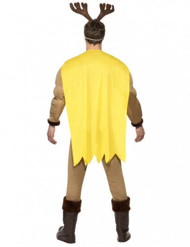 Muskulöses Super-Rentier-Kostüm für Herren-1