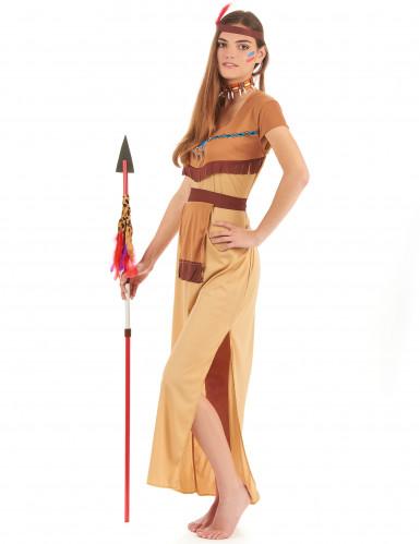Indianerinnen-Kostüm für Damen-1