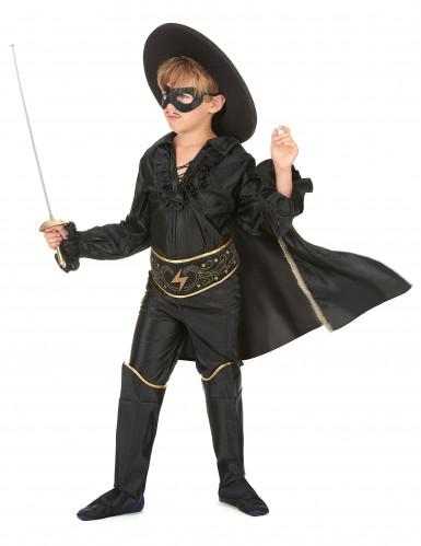 Kostüm maskierter Rächer für Jungen-1