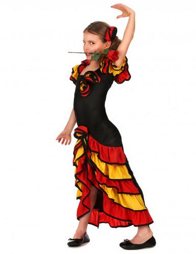Kostüm Spanische Tänzerin für Mädchen-1