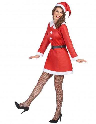 Weihnachtsfrau-Kostüm für Damen-1