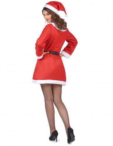 Weihnachtsfrau-Kostüm für Damen-2