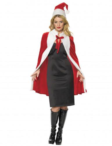 Weihnachts-Kostüm Deluxe für Damen