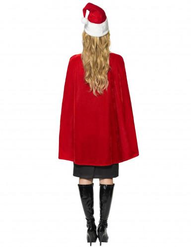 Weihnachts-Kostüm Deluxe für Damen-1