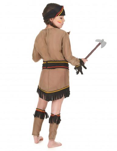 Indianerinnen-Mädchenkostüm bunt-2