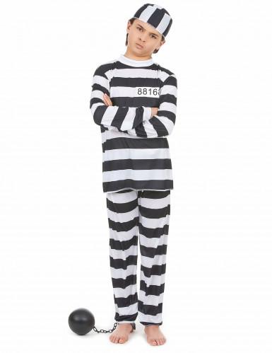 Gefangenen-Kostüm für Kinder
