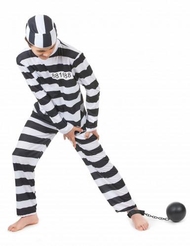 Gefangenen-Kostüm für Kinder-1