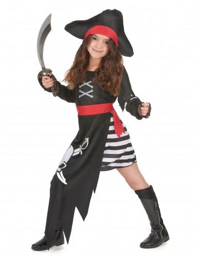 Piraten Kapitäns-Kostüm für Mädchen-1