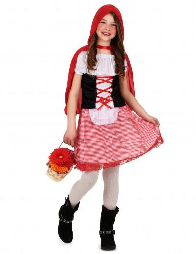 Rotkäppchenkostüm für Mädchen