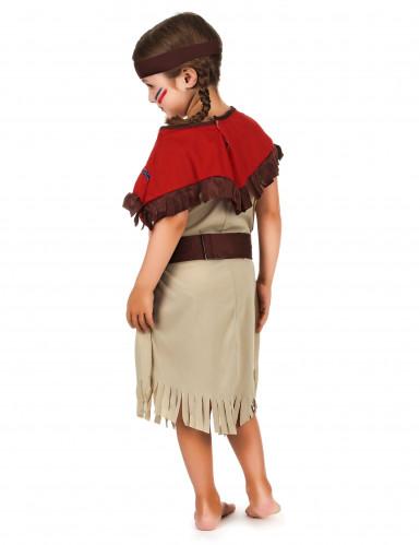 Indianerinnen-Kinderkostüm für Mädchen bunt-1