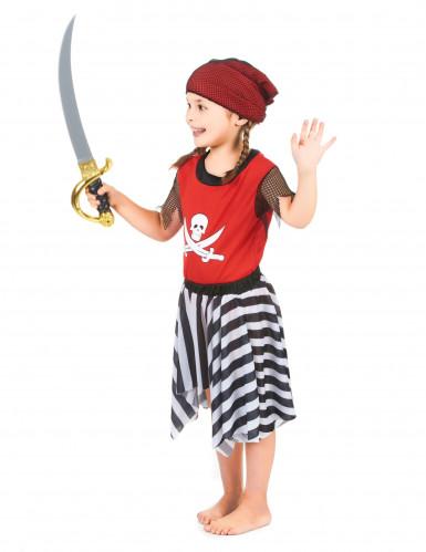 Piratenkostüm für Mädchen-1
