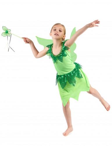 Feenkostüm Grün für Mädchen