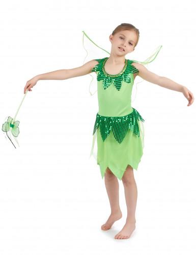 Feenkostüm Grün für Mädchen-1