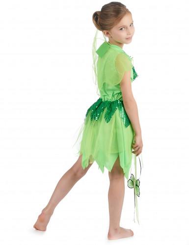 Feenkostüm Grün für Mädchen-2