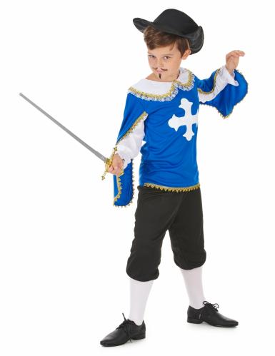 Musketierkostüm blau für Jungen-1