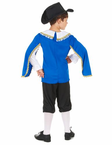 Musketierkostüm blau für Jungen-2