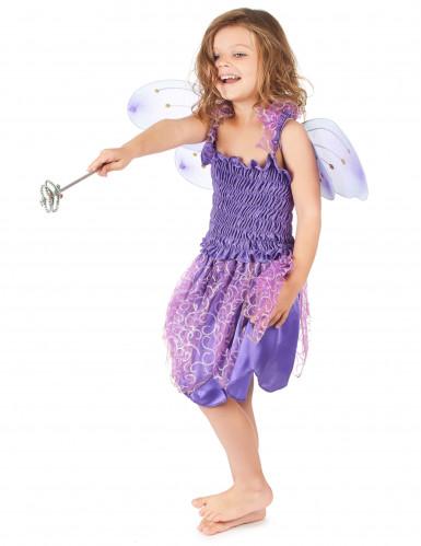 Feenkostüm Violett für Mädchen-1
