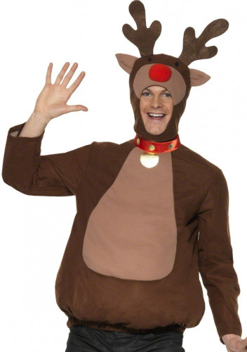 Weihnachtsrentier-Kostüm für Erwachsene