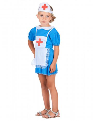 Krankenschwesterkostüm für Mädchen-1