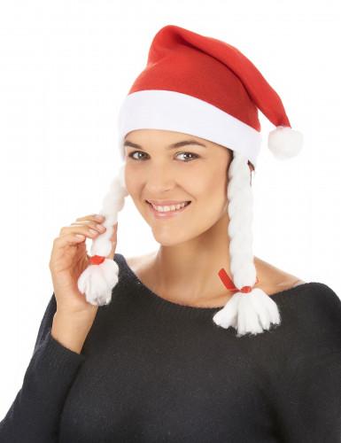 Weihnachtsmann-Mütze für Damen-1