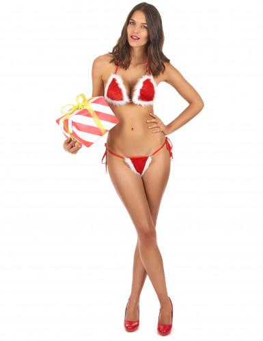 Weihnachts-Bikini für Damen