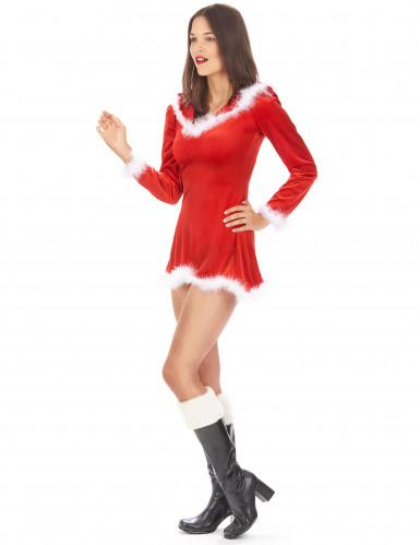Sexy Weihnachtsfrau-Kostüm für Damen-2
