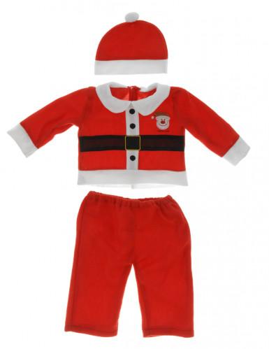 Weihnachtsmann-Kostüm für Jungen-1