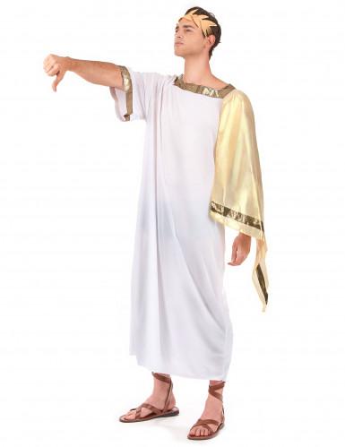 Römerinnen und Römischer Kaiser-Paarkostüm für Erwachsene-1