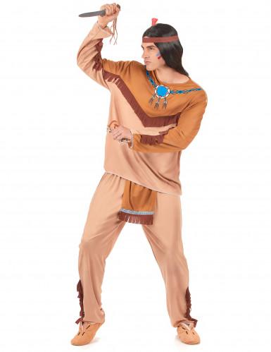 Indianer-Paarkostüm für Erwachsene-1