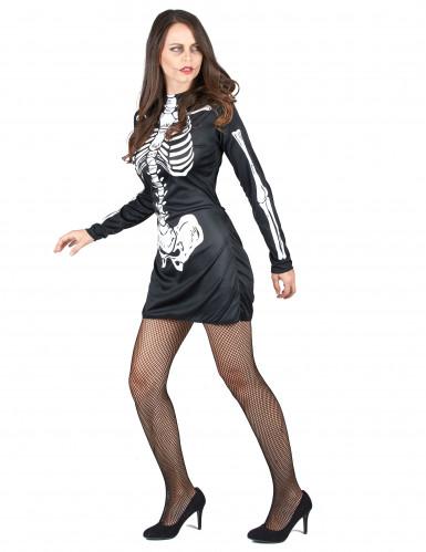 Skelettkostüm Halloween für Paare-1